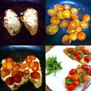 (1)chicken with tomato and basil 2