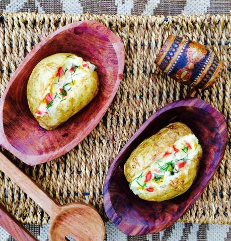 (23)oven baked stuffed potato 2
