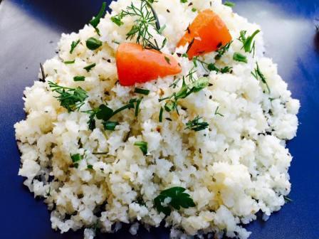 (33)cauliflower rice