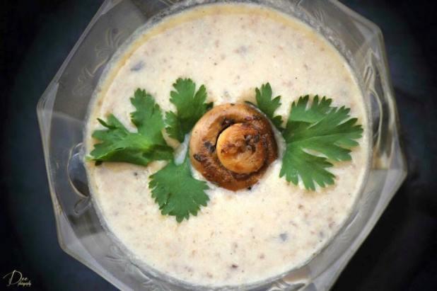 (47)mushroom soup